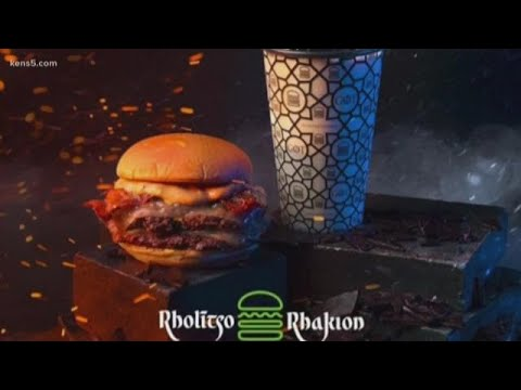 When fast food meets the world's most popular TV show