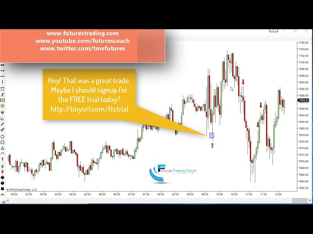 100318 -- Daily Market Review ES CL GC NQ - Live Futures Trading Call Room