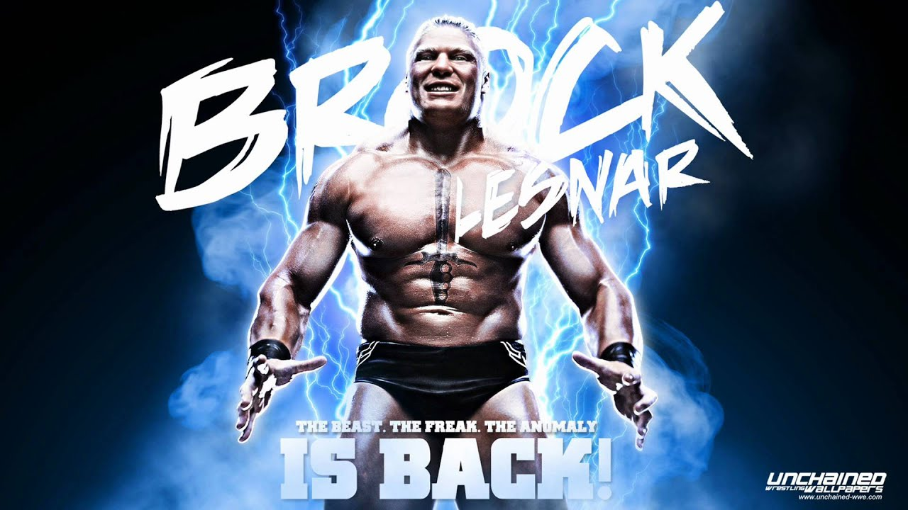 "wwe brock lesnar 2012 theme ""next big thing""jim johnson hd with"