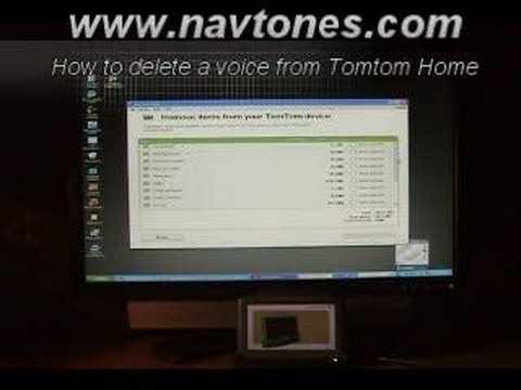How to get celebrity voices on iphone tomtom