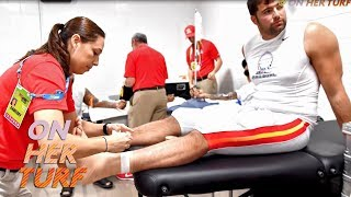 Steelers' Sonia Ruef living dream as NFL athletic trainer I On Her Turf I NBC Sports