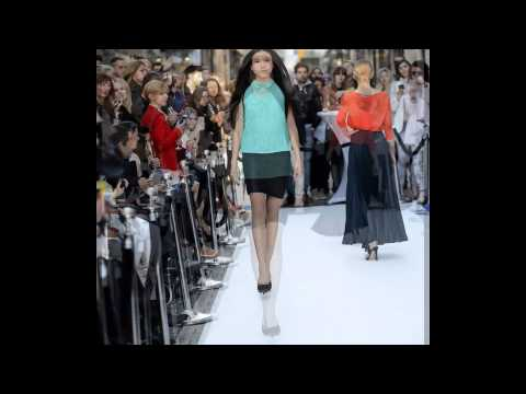 Gia in Style - fashion show for Karen Millen in Luxembourg