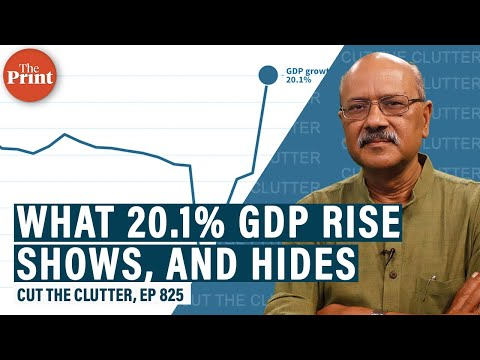 Download India's Q1 GDP grows by a phenomenal 20.1% & here's reality under that headline