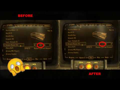 Weightless Weapon Repair Kit Mod for Fallout New Vegas