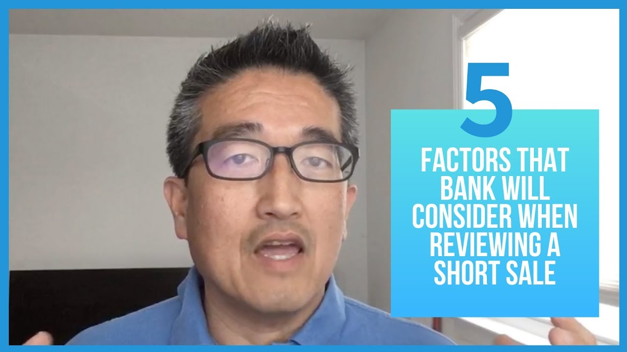5 Factors that Bank will Consider when Reviewing a Short Sale In New Jersey