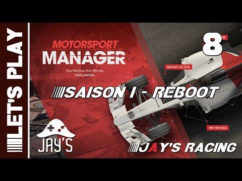 [FR] Motorsport Manager - Jay's Racing - Première Saison (Reboot) - GP Guildford - Épisode 8