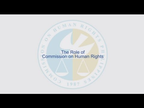 Role of Commission on Human Rights