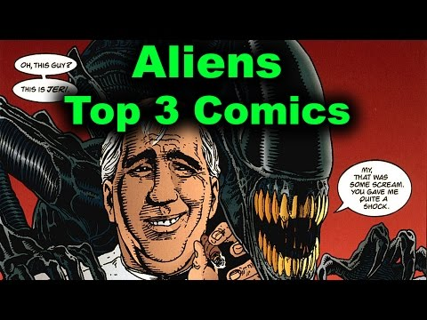Top 3 Aliens Comics (Dark Horse)