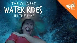 Craziest Water Rides at The Best Water Parks in Dubai & UAE