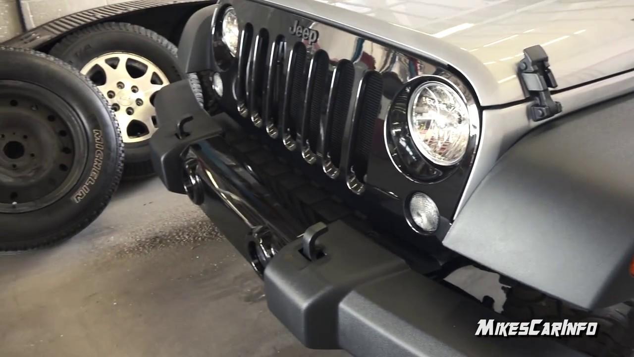 & 2017 Jeep Wrangler Half Doors - Quick look in 4K - YouTube