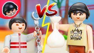 Verbrecher vs. Teenager! Playmobil Polizei Film - KARLCHEN KNACK #151