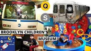 Johny's MTA SUbway Train Ride To The Brooklyn Children's Museum NYC