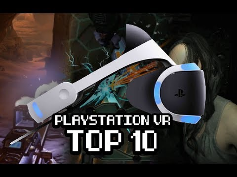 Top 10 PlayStation VR Games (as of June 5, 2017)