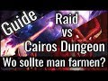 SUMMONERS WAR: Raid Vs Cairos Dungeon | Wo Sollte Man Farmen? (German / Deutsch)