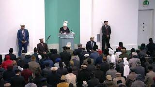 English Translation: Friday Sermon January 30, 2015 - Islam Ahmadiyya