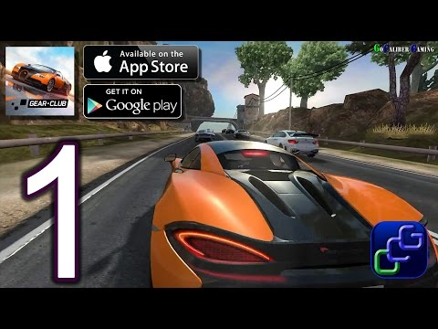 GEAR CLUB Android IOS Walkthrough - Gameplay Part 1 - Dream Coast Chevrolet Camaro 1LS