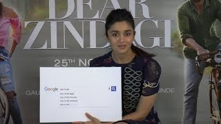 Alia Bhatt completes Google most asked questions....