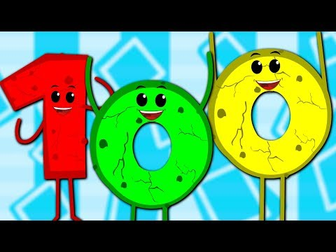 Numbers Song 1 to 100  Learn To Count With Cookie  Big Number Song  Ba Song