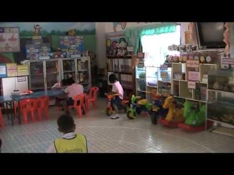 บรรยากาศในชั้นเรียนอนุบาล โรงเรียนบ้านท่าลาด สพป.อบ.เขต 4