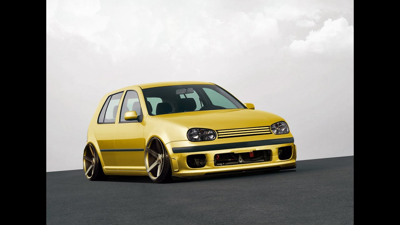 virtual tuning volkswagen golf 4 20 youtube. Black Bedroom Furniture Sets. Home Design Ideas