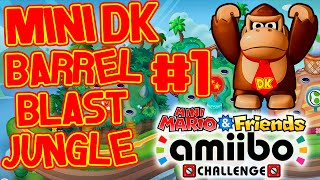 ABM: Mini DK Barrel Blast Jungle Gameplay!! HD