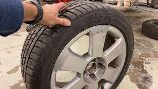 Tire Tread Patterns - How to Identify