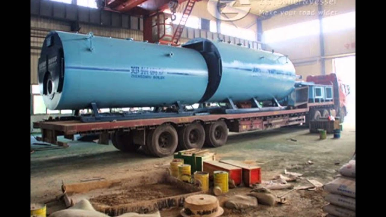 3ton and 20 ton gas fired boiler export to Malaysia - YouTube