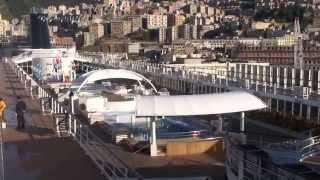 MSC Armonia video prodotto da Liveboat dopo il refitting 18/11/14