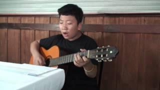 """Bé Tiến Lộc chơi guitar bài """"My Love - Westlife"""""""