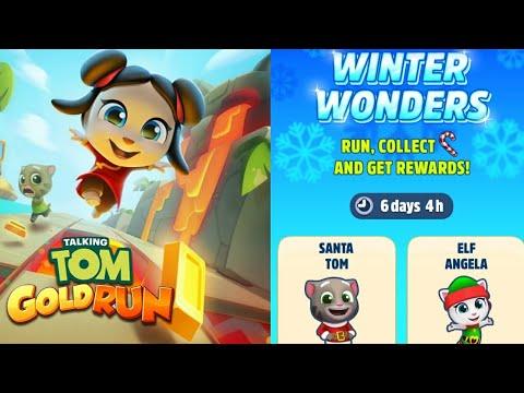 New Year 2020 Event: Winter Wonders - Talking Tom Gold Run
