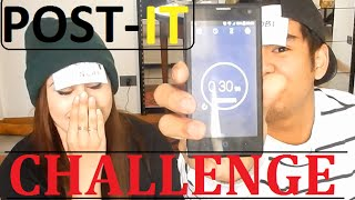 POST-IT Challenge! - YOUTUBER EDITION