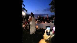 Trakas and Sandra Floyd wedding
