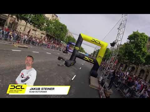 Drone Racing in Paris - DCL at Champs Élysée   Jakub Steiner Quarterfinal Race
