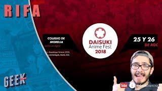 Daisuki Anime Fest rifa dos bolestos de dos días | Geekstamina