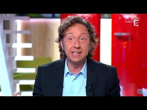 Quand Stéphane Bern parle... de l'anus de Louis XIV pendant le dîner - C à vous - 16/06/2014