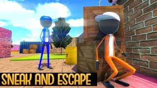 Shadow Stickman Jail Break Game Full Game Walkthrough / Android Gameplay HD