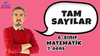 Tam Sayılar | 6. Sınıf Matematik Konu Anlatımları #6mtmtk