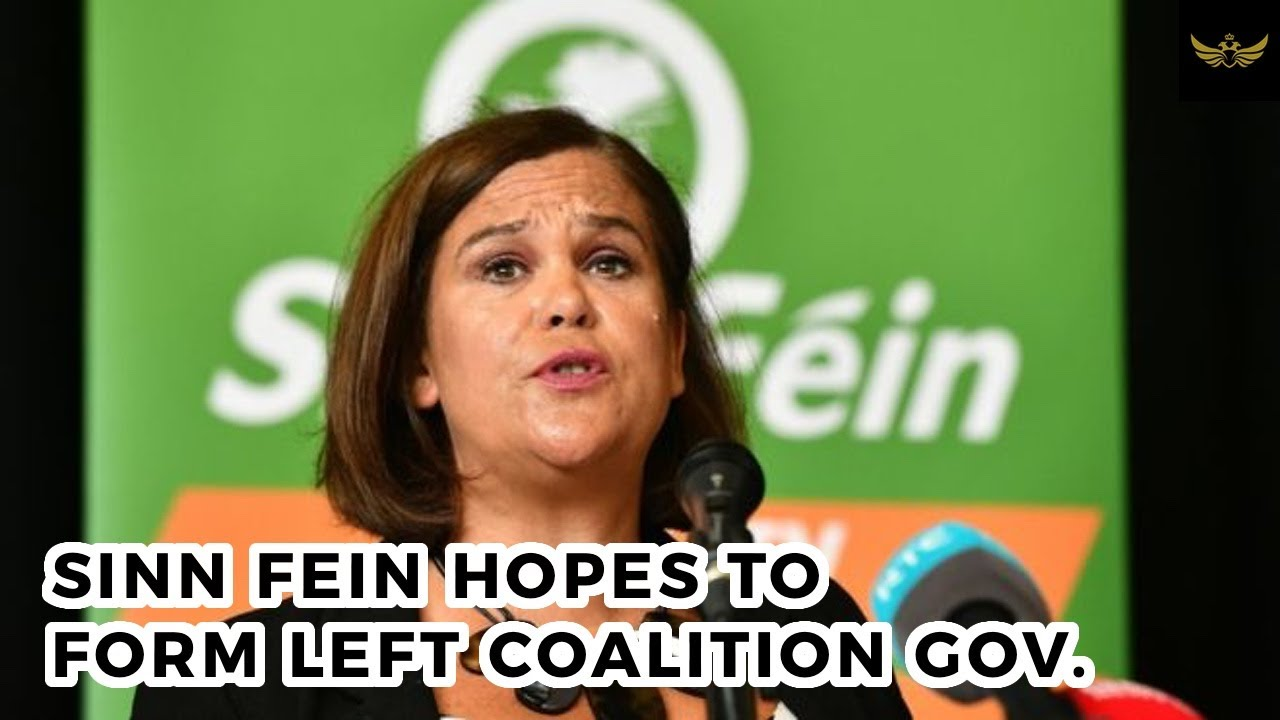 Sinn Fein gets green light to form 'broad left coalition' gov't in Ireland