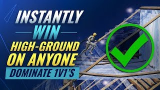 4 INCREDIBLE HighGround Retakes You Need To Learn - Fortnite Tips and Tricks