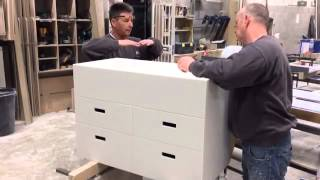 Corian Bathroom Vanity Unit