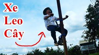 Cách Làm Máy Leo Cây Dừa , Cây Cau , Cây Cột Điện / Hướng Dẫn Chế Xe Leo Cây  . Tree Climbing Tool