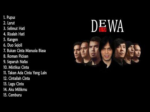 Kumpulan Top DEWA 19 Paling Populer Lagu Tahun 2000 | Koleksi Lagu Pop DEWA 19 Terpopuler Tahun 2000