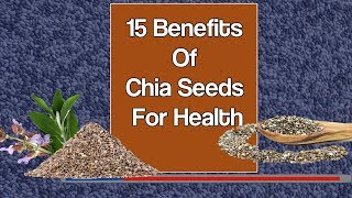 15 Benefits Of Chia Seeds For Health