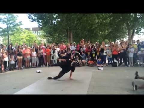 London street dance show :)