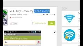 Android kayıtlı wifi şifresi öğrenme