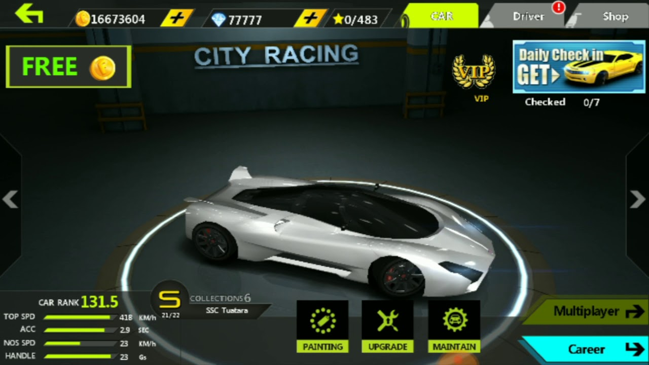 City Racing 3d Mod Apk Unlimited Everything Coins Nitros Everything