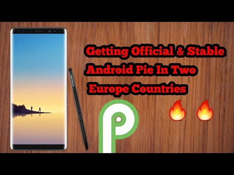 Galaxy Note 8 Official And Stable Android Pie Update Rolling Out In Slovakia And Bulgaria