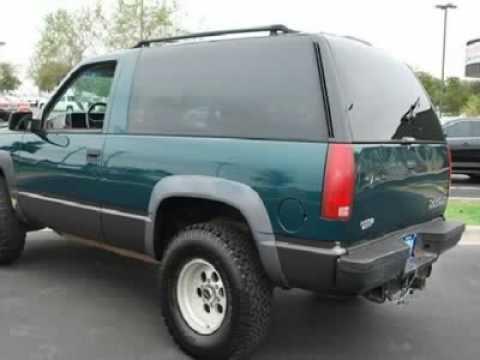 Henna Chevrolet Austin >> 1995 CHEVROLET TAHOE - YouTube