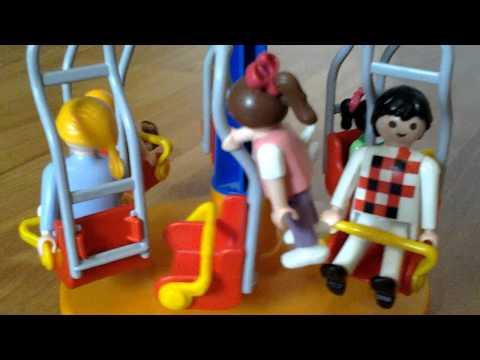 Le manège avec mamie : playmobil