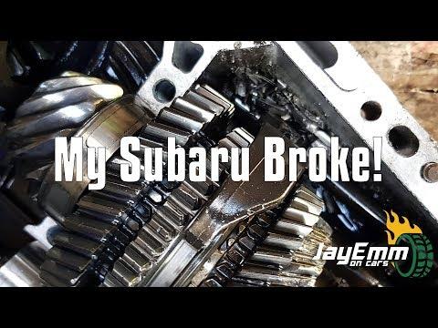 My Subaru Gearbox Nightmare! Stripping A Transmission In My Garage.